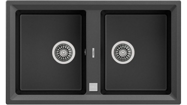 Teka Stone 90 B-TG Sink Dark Gray