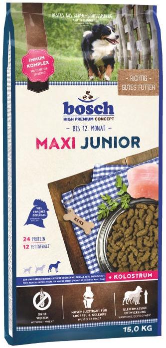 Сухой корм для собак Bosch PetFood Maxi Junior 15kg