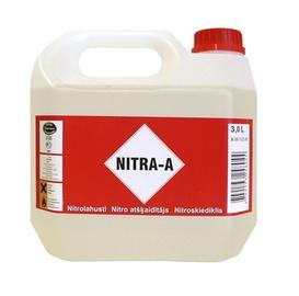 Atšķaidītājs nitrocelulozes Nitra A 3L