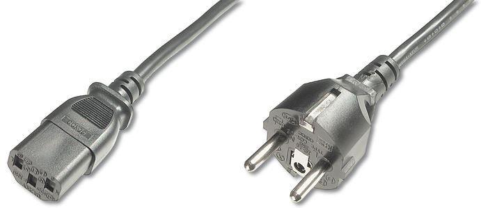 Assmann Cable Schuko / IEC C13 Black 1.2m