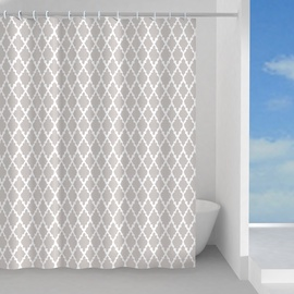 Штора для ванной Gedy Araldica TTE13252430, песочный, 2400x2000 мм