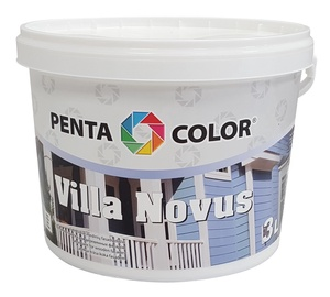 Krāsa fasādēm Pentacolor Villa Novus, 3 l, zaļa