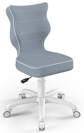 Entelo Childrens Chair Petit Size 4 White/Blue JS06