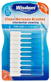 Wisdom Clean Between Brushes 20pcs Fine