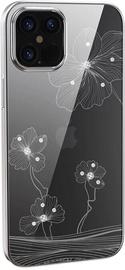 Чехол Devia Crystal Flora for iPhone 12 Mini, серебристый