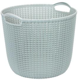 Curver Knit Round L Blue