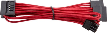 Corsair Premium Individually Sleeved SATA Cable Type 4 (Gen 3) Red