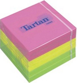 3M Tartan 07676-N Sticky Notes