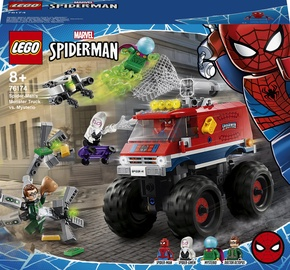 Конструктор LEGO Super Heroes Marvel Монстр-трак Человека-Паука против Мистерио 76174, 439 шт.