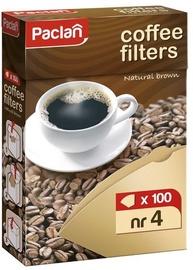 Kavos filtrų komplektas Paclan, 100 vnt.