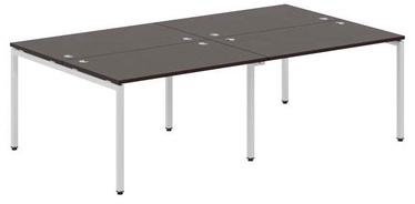 Skyland Xten-S Office Desk XWST 2414 Legno Dark/Aluminium