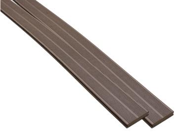 WPC terasos lenta, ruda, 20 x 140 x 2900 mm