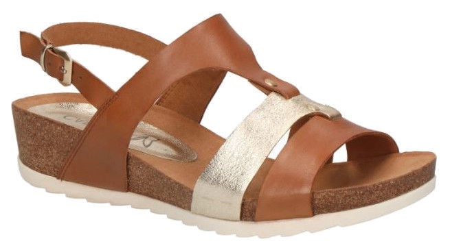 Basutės, Caprice Sandals 28207/22, Brown, 40