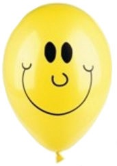 Pap Star Sunny Balloons 25cm 10 Pieces