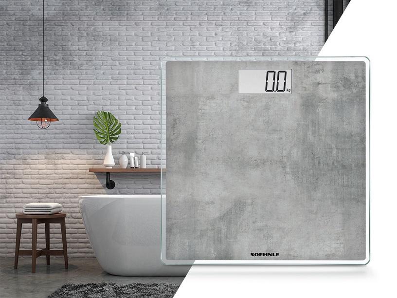 Kūno svarstyklės Soehnle Style Sense Compact 300 Concrete