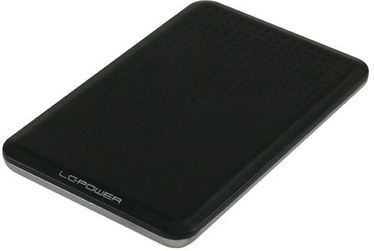 "LC Power HDD Enclosure 2.5"" SATA III USB 3.0 Black"