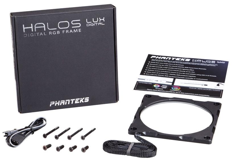 Phanteks Fan Frame Halos LUX Digital RGB 140 mm Black