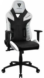 Игровое кресло Thunder X3 TC5 All White, белый/черный