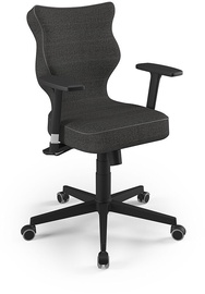 Entelo Nero Black Office Chair FC33 Dark Gray