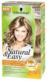 Matu krāsa Schwarzkopf Natural & Easy 542 Opal Medium Ash Blond