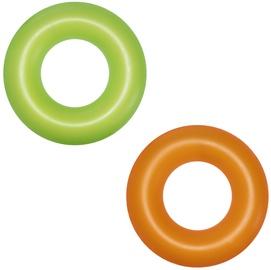 Piepūšams riņķis Bestway Neon, zaļa/oranža, 910 mm