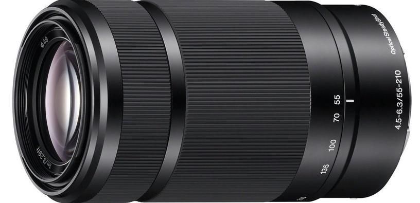 Sony E 55-210mm F4.5-6.3 OSS Black