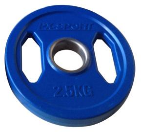 PX Sport Weight Disc Blue Rubber 2.5kg
