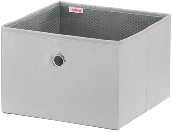 Leifheit Cloth Box Big Box 27.5x28x19cm Grey/Combi System
