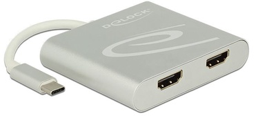 Delock USB Splitter / 2 x HDMI