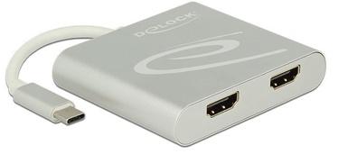 Delock USB Splitter / 2 x HDMI