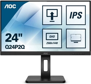 "Monitorius AOC Q24P2Q, 23.8"", 4 ms"