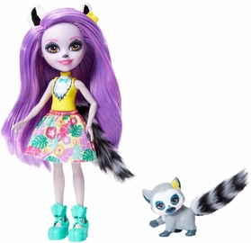 Mattel Enchantimals Lemur Doll GFN44