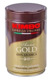 Kimbo Aroma Gold Ground Coffee 250g