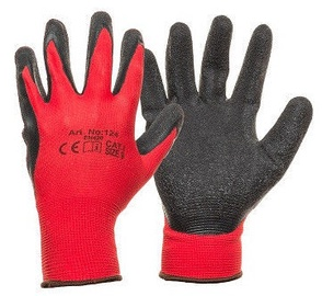 DD Nylon Knitted Gloves With Latex 9