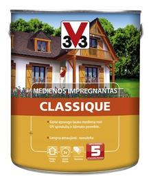 Medienos impregnantas V33 Classique, vyšnios spalvos, 2.5 l