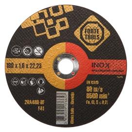 Lõikeketas Forte Tools 178x1,6x22,23 mm, Inox