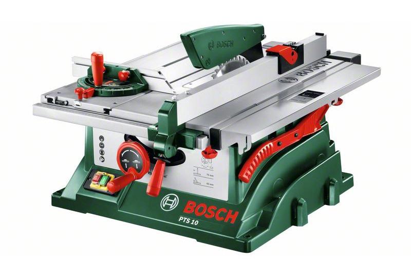 Galda ripzāģis Bosch PTS 10, 1400W