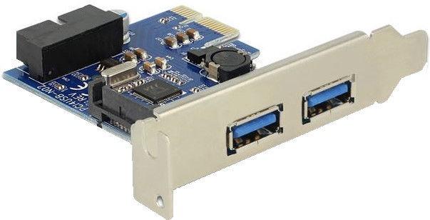 Delock PCe 2 x external USB 3.0 + 1 x internal USB 3.0