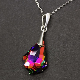 Diamond Sky Pendant Baroque IV Vitrail Medium With Crystals From Swarovski