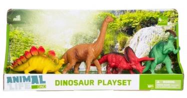 Rotaļlietu figūriņa Dinosaur, 4 pcs