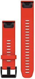 Garmin Fenix 5 22mm QuickFit Red Silicone Band