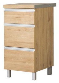 Bodzio Monia Lower Drawer Cabinet 40 Brown