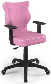 Детский стул Entelo Duo Size 6 VS08, черный/розовый, 400 мм x 1045 мм
