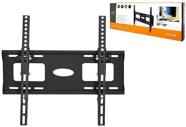 "Televizoriaus laikiklis HQ LXLCD38 Universal LCD/LED TV Wall Mount 55"" Black"