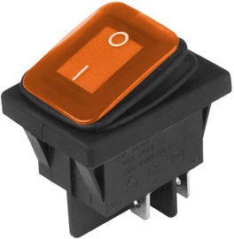 Carmotion Electric Switch DC 12V/24V Yellow
