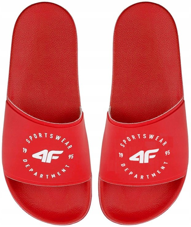4F Women Slides H4Z20-KLD001 Red 36