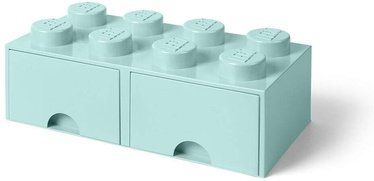 Room Copenhagen LEGO Brick Drawer 8 Aquablue