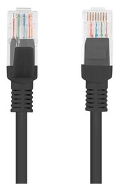Lanberg Patch Cable u=UTP CAT5e 0.5m Black