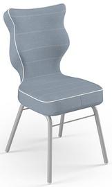 Детский стул Entelo Solo Size 3 JS06, синий/серый, 310 мм x 695 мм