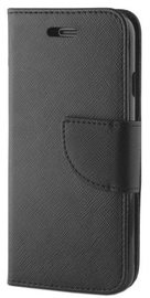 Mocco Fancy High Quality Book Case For Samsung Galaxy J4 Plus J415 Black